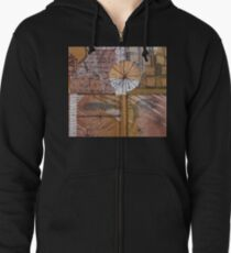 The Clouds Used to have Their Eyes Zipped Hoodie