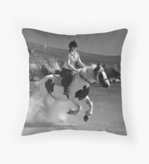 da waterhorse Throw Pillow