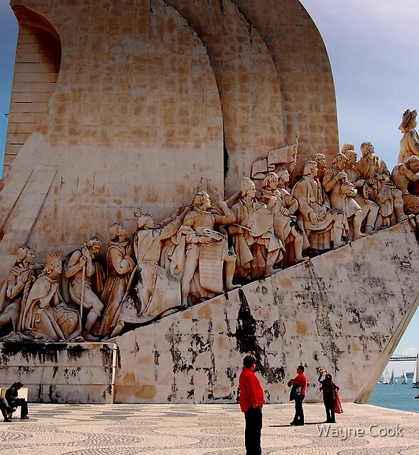 Explorers...Long may you Live-Explorers Monument, Lisbon, Portugal by Wayne Cook