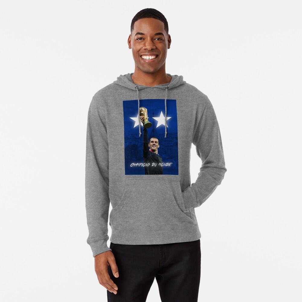 Antoine Griezmann - Francia - Campeones de la Copa Mundial 2018 - Champions Du Monde Sudadera con capucha ligera
