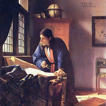 The Geographer, by Johannes Vermeer by mindthecherry