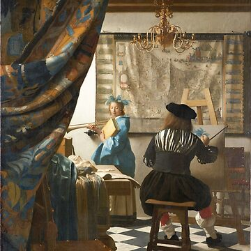 HD The Art of Painting by Johannes Vermeer - HIGH DEFINITION by mindthecherry