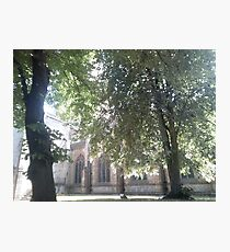 Church yard  Photographic Print