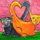 The Love Kittens by Filomena Jack