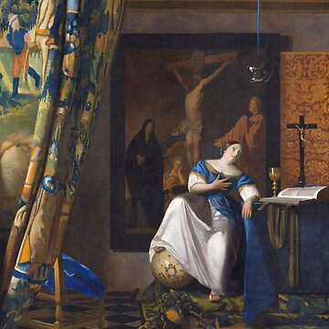 HD The Allegory of the Faith, by Johannes Vermeer HIGH DEFINITION by mindthecherry