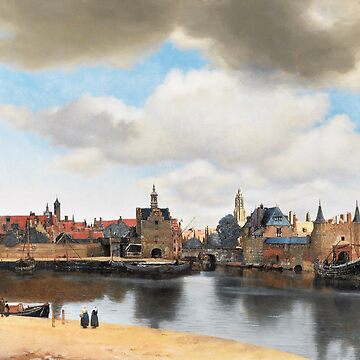HD View of Delft, by Johannes Vermeer HIGH DEFINITION by mindthecherry