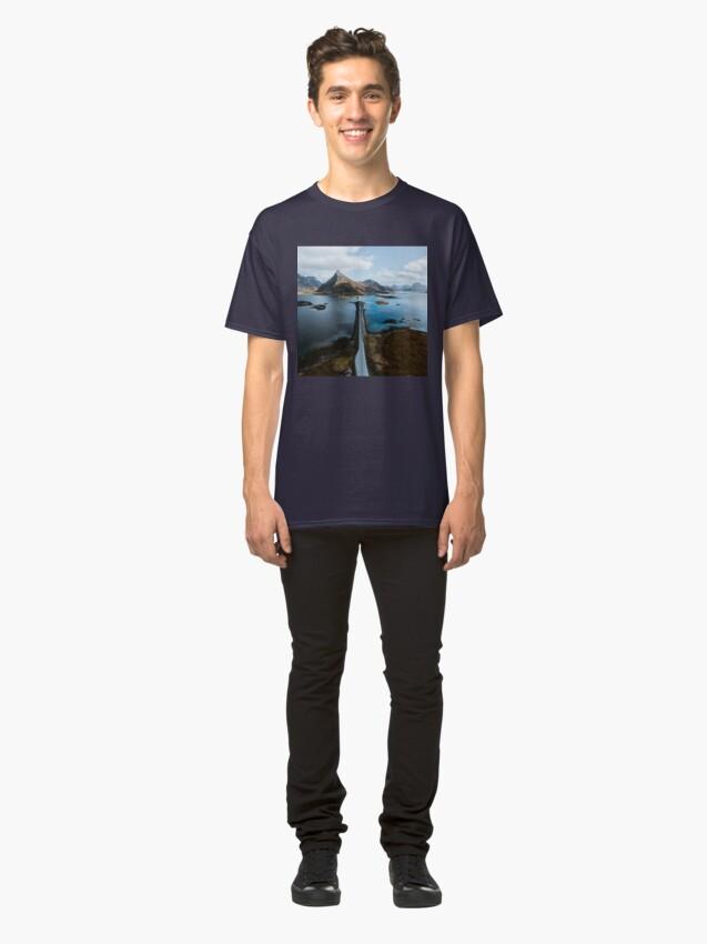 Alternate view of Lofoten Islands Classic T-Shirt