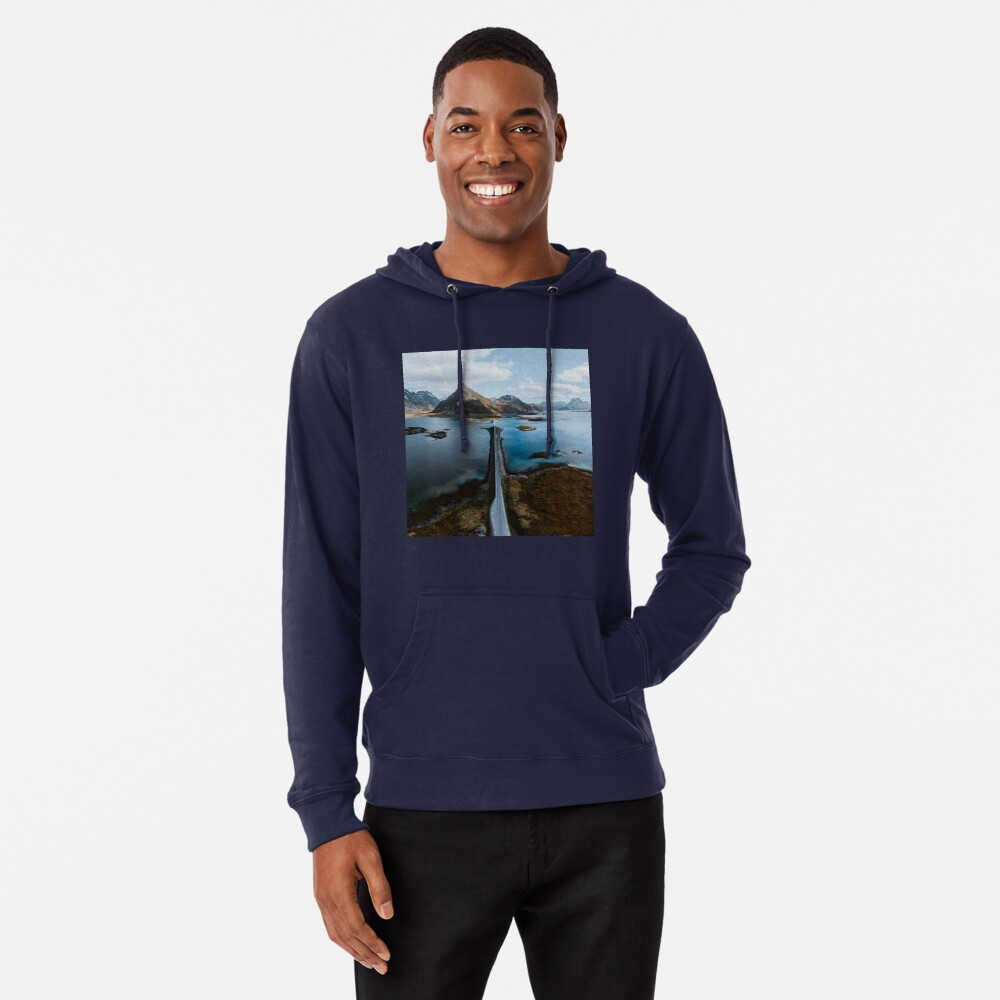 Lofoten Islands Lightweight Hoodie