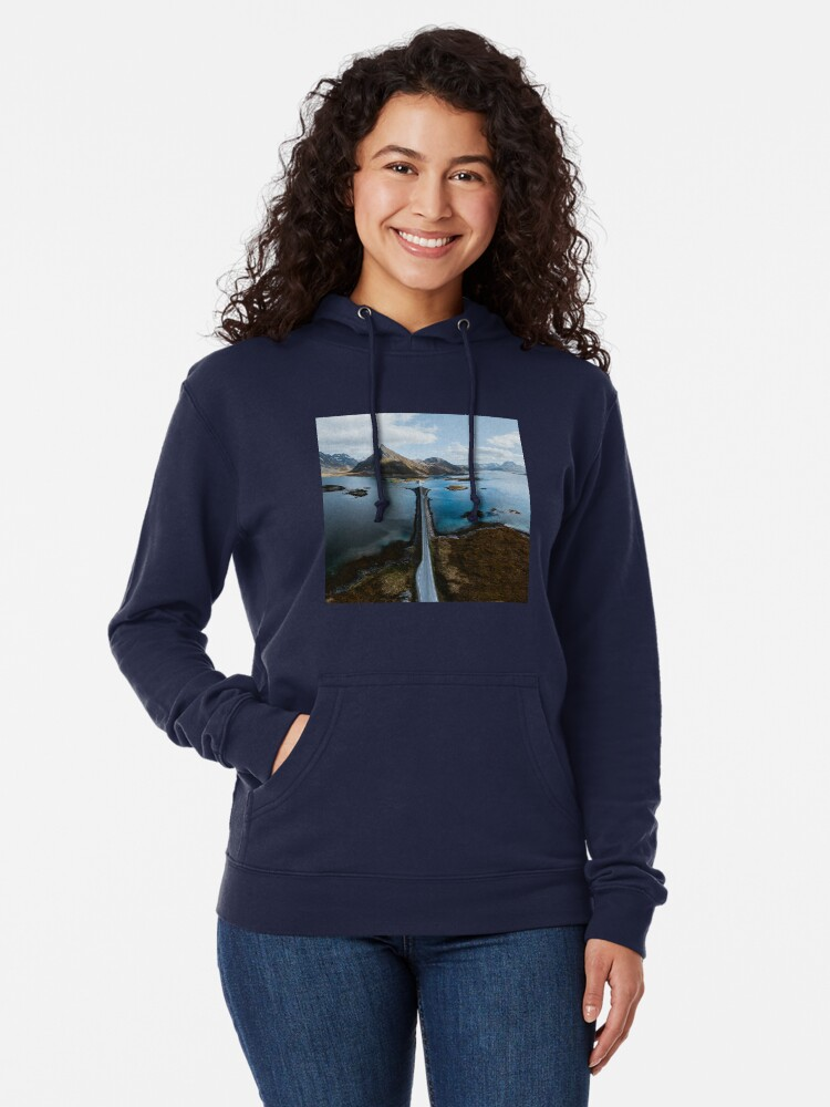 Alternate view of Lofoten Islands Lightweight Hoodie
