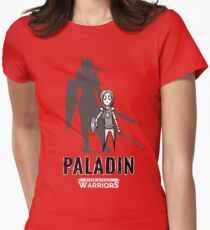AFTER SCHOOL WARRIORS: PALADIN Women's Fitted T-Shirt