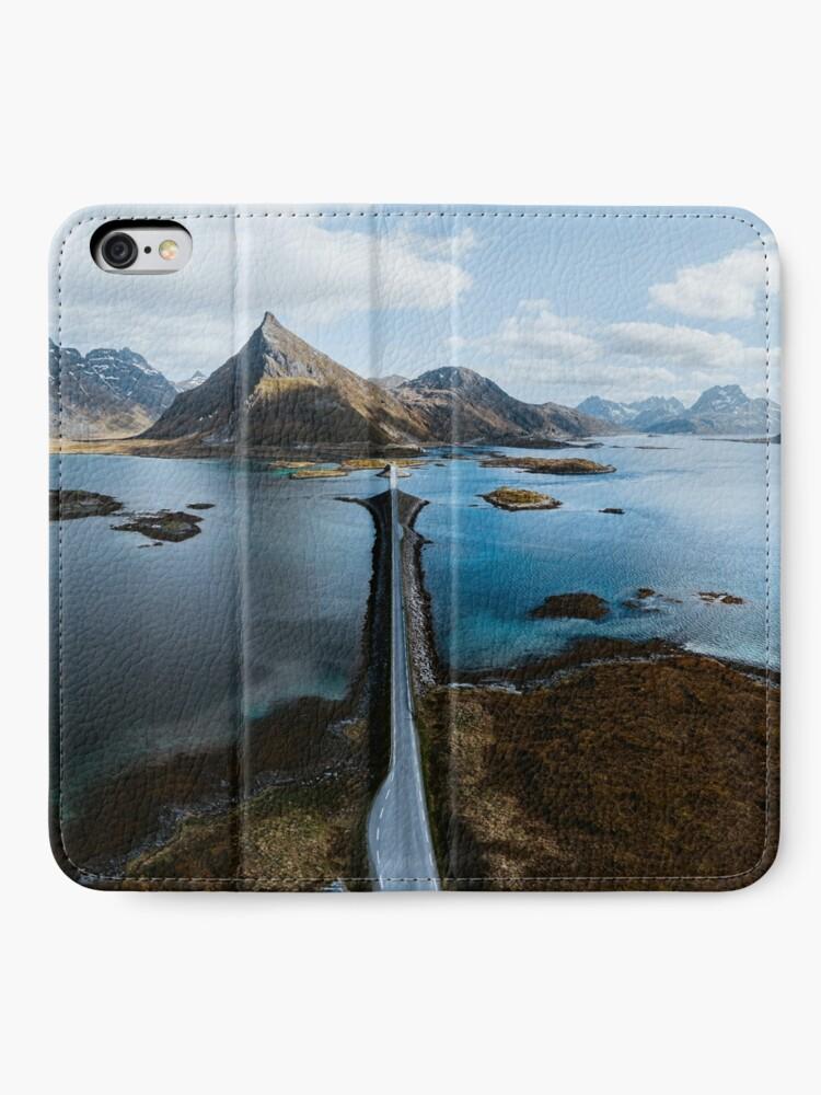 Alternate view of Lofoten Islands iPhone Wallet