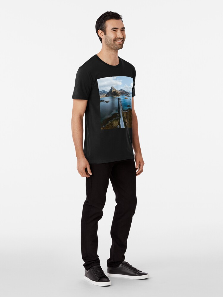 Alternate view of Lofoten Islands Premium T-Shirt