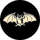 Goth Bat - Nocturnal Vampire logo by Ben Walker Storey