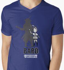 AFTER SCHOOL WARRIORS: BARD Men's V-Neck T-Shirt