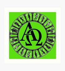 Alpha & Omega Art Print
