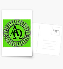 Alpha & Omega Postcards