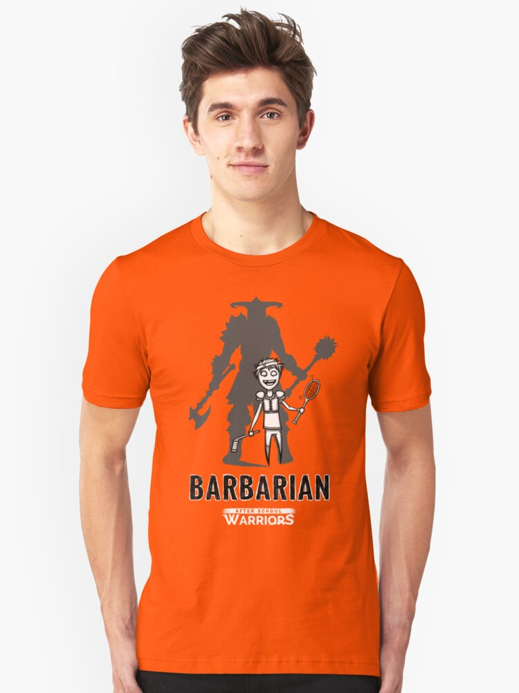 AFTER SCHOOL WARRIORS: BARBARIAN Unisex T-Shirt Front