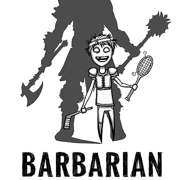 AFTER SCHOOL WARRIORS: BARBARIAN by Iceaegis
