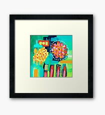 Aerial Abstract III Framed Print