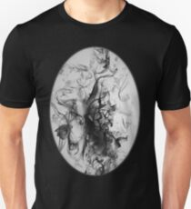 The woman in Black Unisex T-Shirt