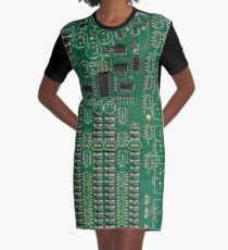 PCB-Leiterplatte T-Shirt Kleid
