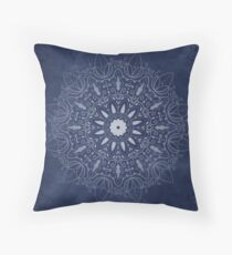 Indigo Mystique Mandala Floor Pillow