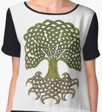 Celtic Yggdrasil - Tree of Life Chiffon Top