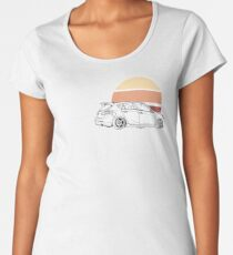 Simple circle gen 2 mazdaspeed 3 Women's Premium T-Shirt