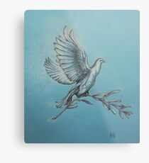 Dove of Peace. Metal Print