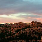 Morning Sun Illuminating Bryce Canyon by Len Bomba