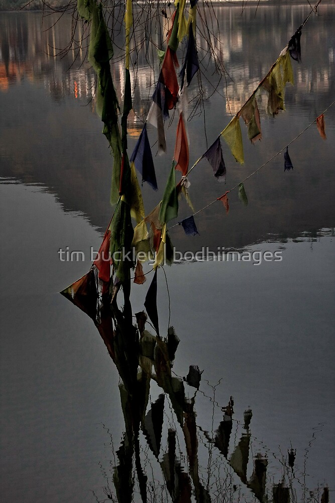 prayers. tso pema, india by tim buckley | bodhiimages