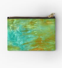 abstract landscape oil painting Studio Pouch