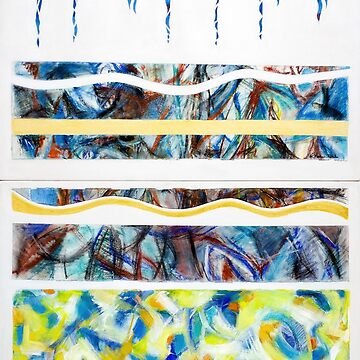 Layers - Beneath the surface (Panels 2 and 4) by artropica