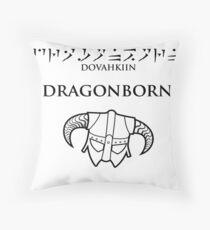 Dovahkiin - Dragonborn Throw Pillow