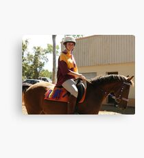 Winners Are Grinners Canvas Print