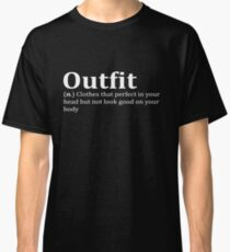 Funny Meme Quote Classic T-Shirt