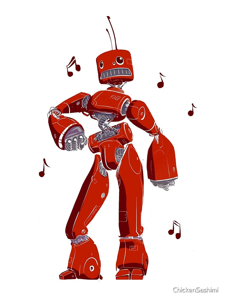 Funky Robot by ChickenSashimi