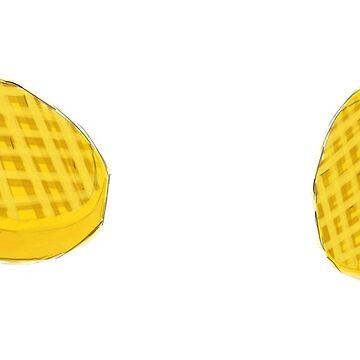 Waffles by whimsyteaspoon