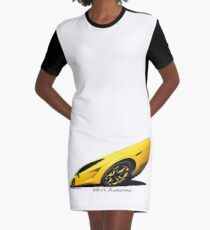 Super Car Art #15  We're Awesome  Graphic T-Shirt Dress
