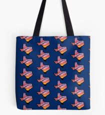 Texas Lone Star State Sunset Design Tote Bag