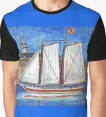 Sailing Annapolis Graphic T-Shirt