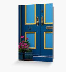 Door Step Greeting Card