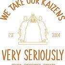 Kaizen Very Serious by geminilegal