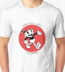 Cuphead- Don't deal with the devil Unisex T-Shirt