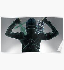 Kirito x Asuna Sword Art Online SAO Poster