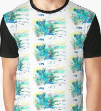 aura forest - Watercolor illustration Graphic T-Shirt
