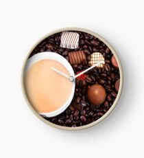 Coffee And Chocolate Delight Clock