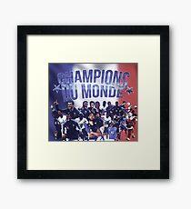 Champions du monde - france worldcup champion Framed Print