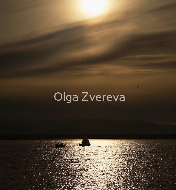 Golden Path by Olga Zvereva