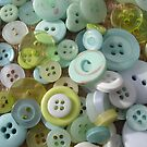 Button Green One by knoppie